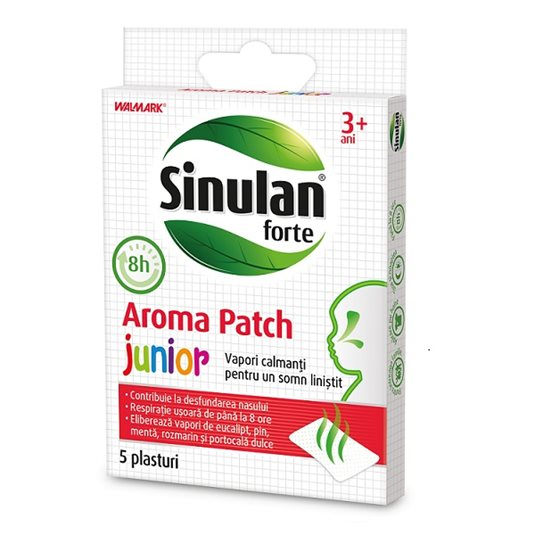 Sinulan Forte Aroma Patch Junior