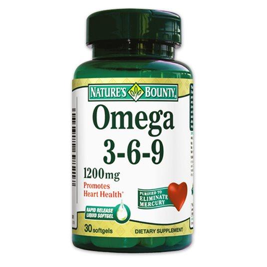 Omega 3-6-9 Nature's Bounty
